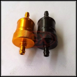 CNC motorcycle fuel filter