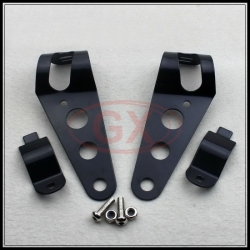 33-43mm universal headlight brackets